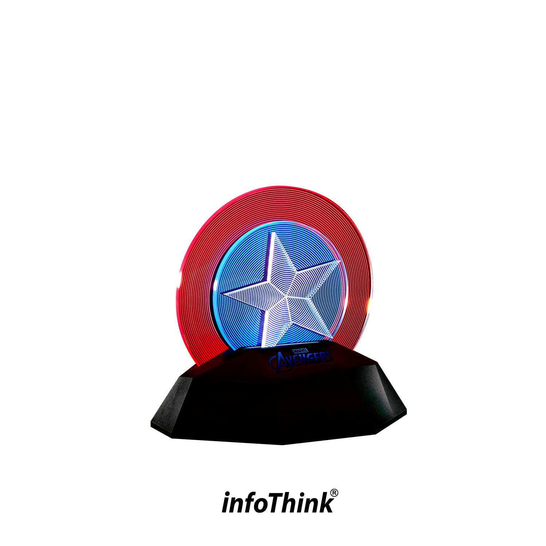 CAP SHIELD 3D LINE LAMP