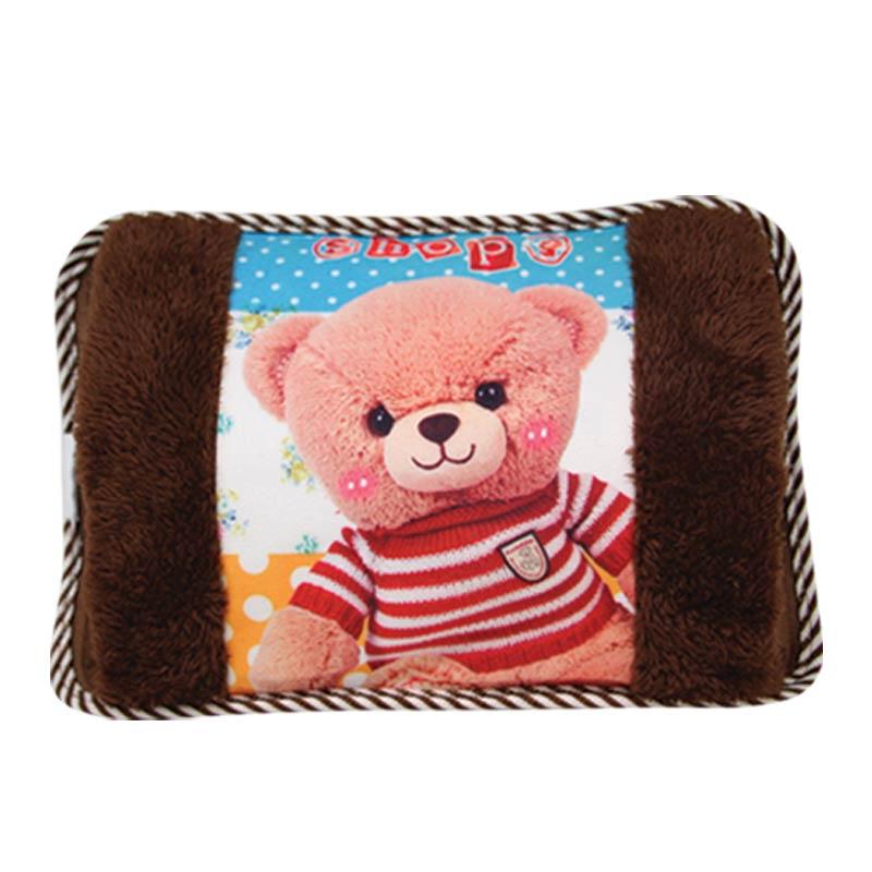 กระเป๋าน้ำร้อนพิมพ์ลาย ลายคุณหมี