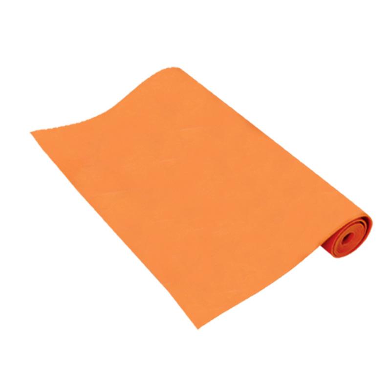 เสื่อโยคะ หนา 4 มม. สีส้ม