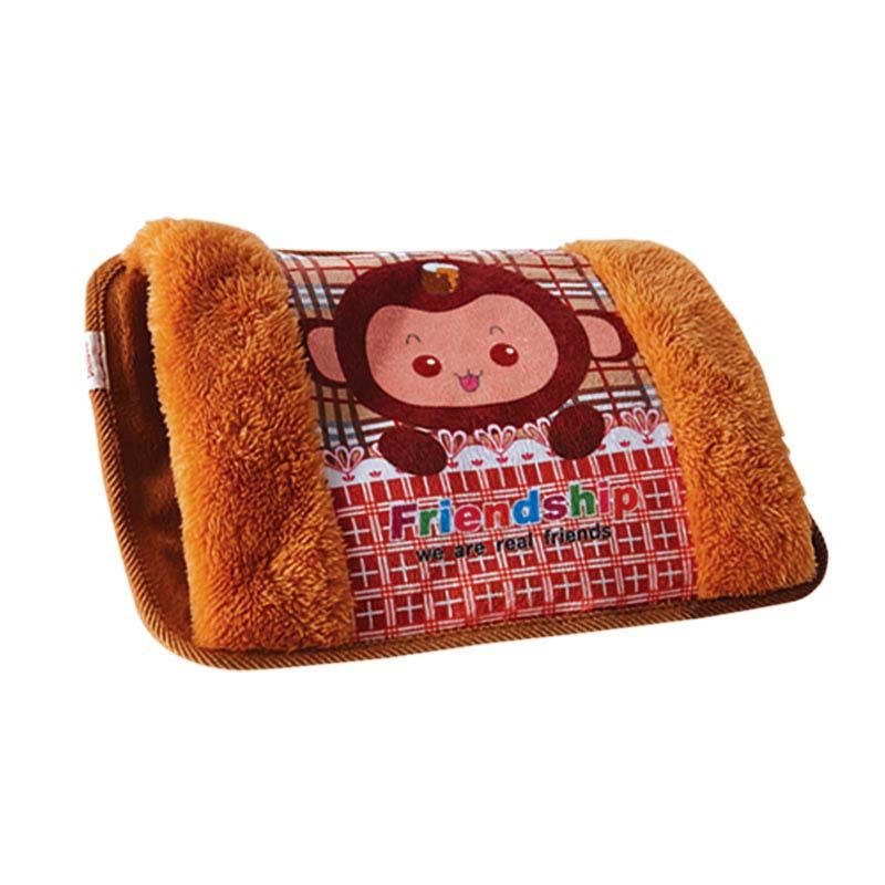 กระเป๋าน้ำร้อนพิมพ์ลายลายลิง