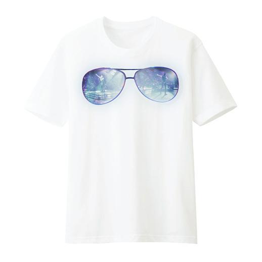 เสื้อยืดสีขาว Glasses JDNA X-TREME CONCERT
