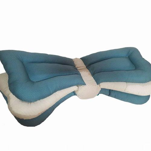 Pakhun Pillow หมอนให้นมปรับระดับ สีฟ้า