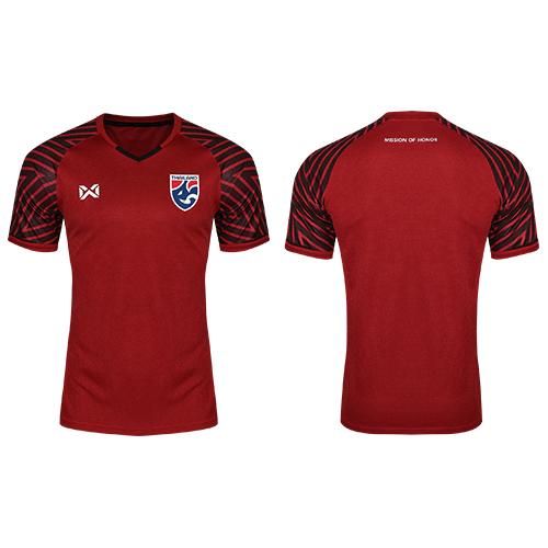 เสื้อเชียร์ทีมชาติไทย 2018 (ผู้ชาย) สีแดง