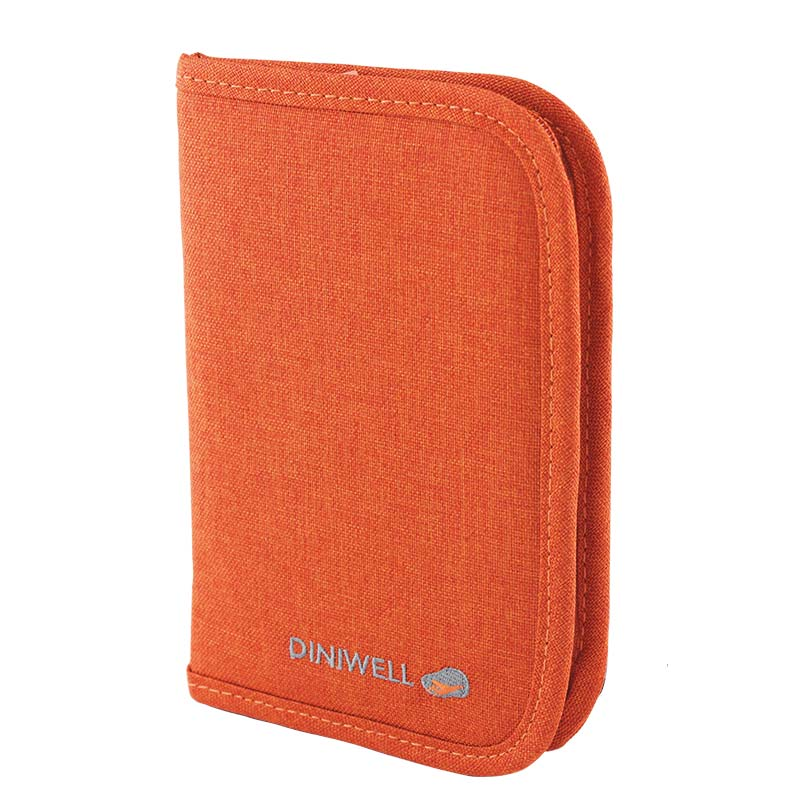 กระเป๋าใส่เอกสารพกพา สีส้ม