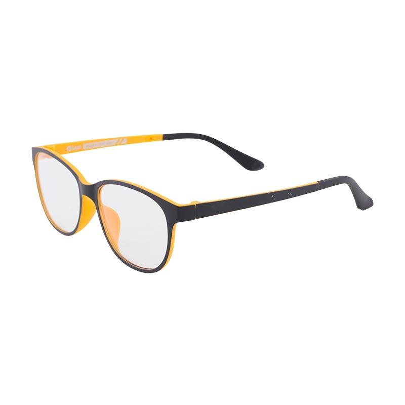 Leon แว่นกรองแสงอุปกรณ์ดิจิตอล กรอบดำ-ส้ม