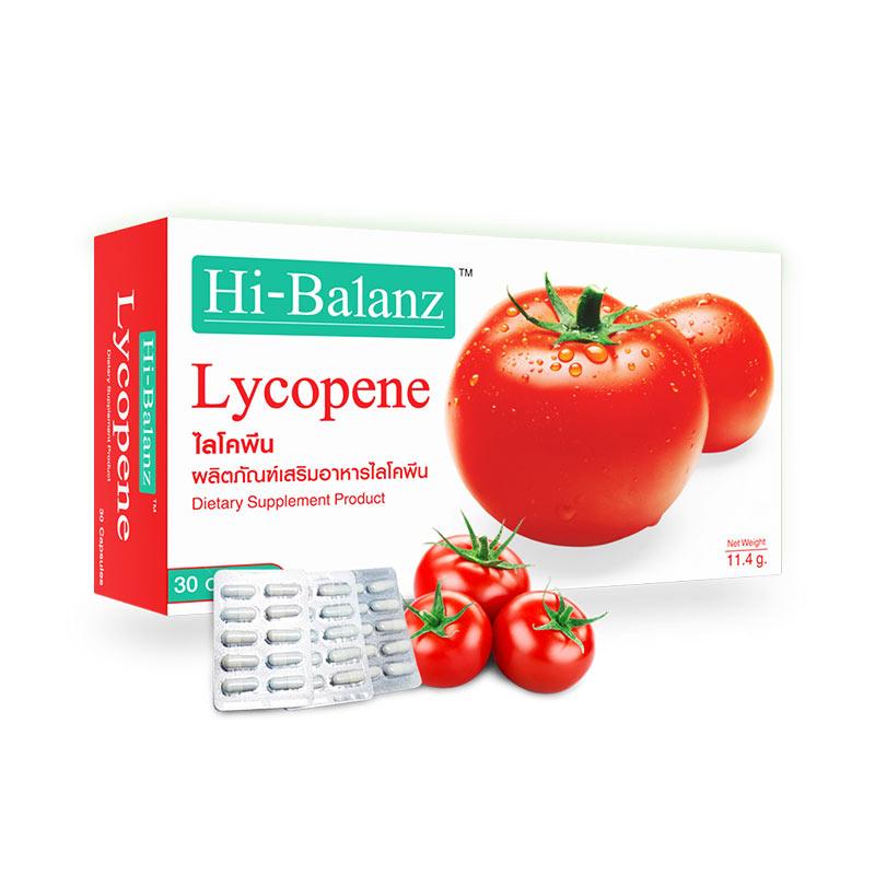 ไฮบาลานซ์เสริมอาหารไลโคพีน 30แคปซูล_1ฟรี1