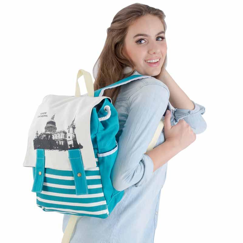 กระเป๋าเป้ CATHEDRAL สีเขียว