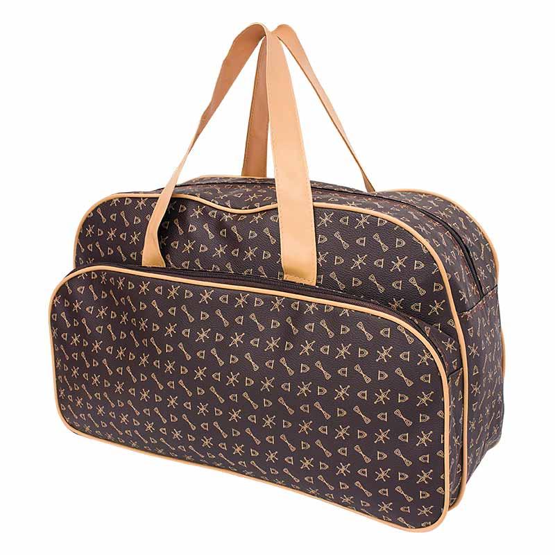 DM กระเป๋าเดินทาง - สีน้ำตาล