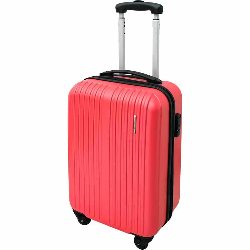กระเป๋าเดินทาง สีชมพู ไซส์ 20 นิ้ว