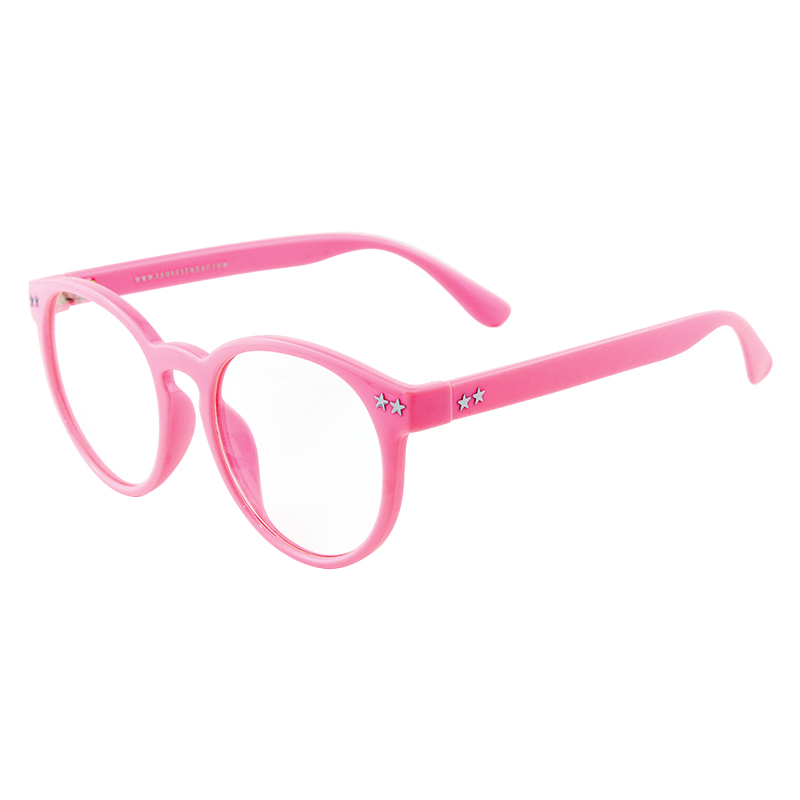 Leon แว่นกรองแสงรุ่น2026 สีชมพู