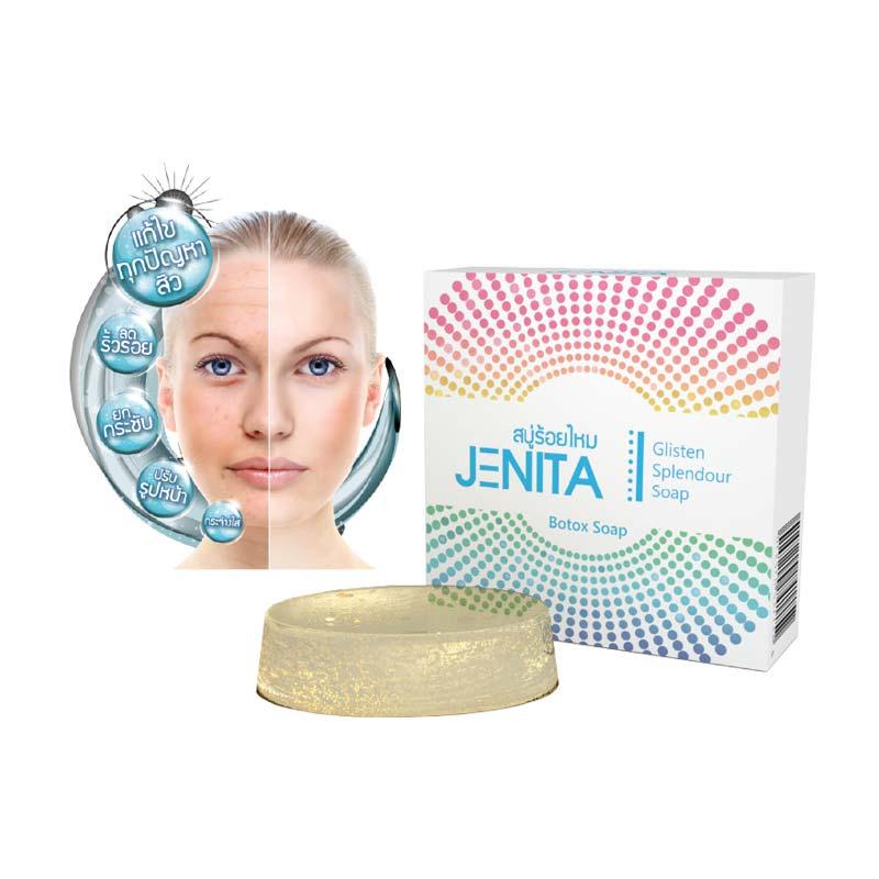 Jenita เจนิต้า สบู่ร้อยไหม 25กรัม แพ็ค2ชิ้น