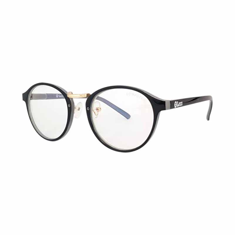 Leon แว่นกรองแสงรุ่น COMN-V07 สีดำ - เทา