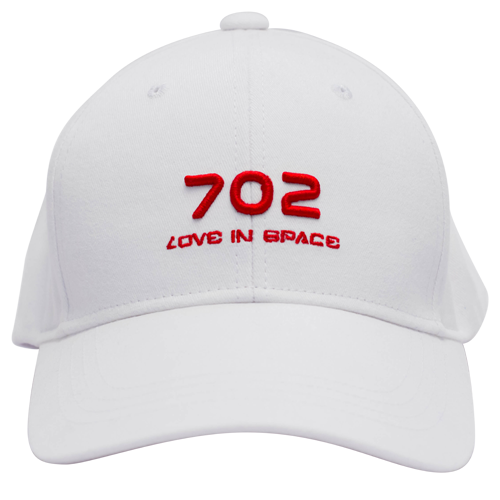 CAP : 702 LOVE IN SPACE_White