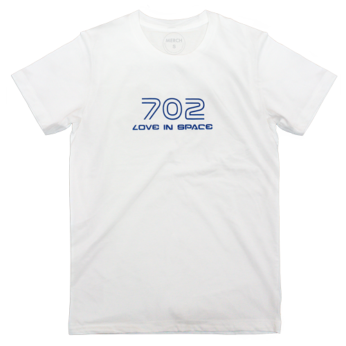 T-shirt : 702 IN SPACE  BLUE