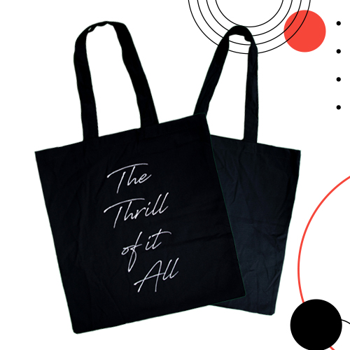 Sam Smith Shopping Bag (The Thrill of it All)