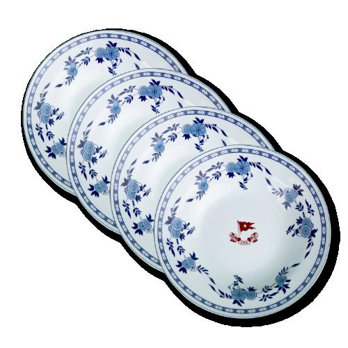China 2nd class soup bowl set 4 pcs.