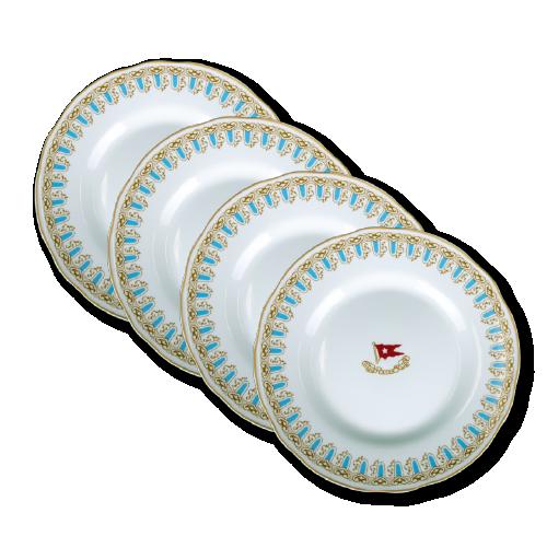 Wisteria dinner plate set 4 pcs.