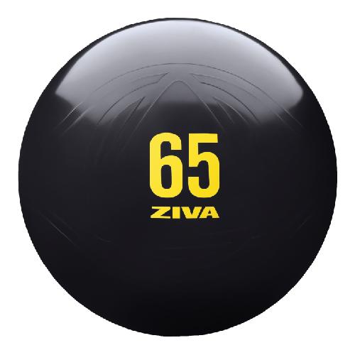 ZIVA Anti Burst Core Fitness Exercise Ball (Black)