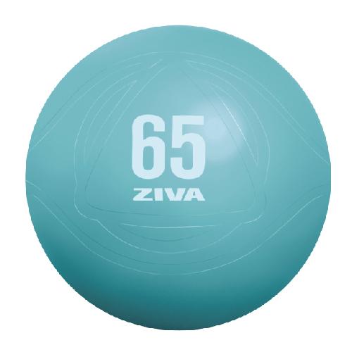 ZIVA Anti Burst Core Fitness Exercise Ball (Turquoise)