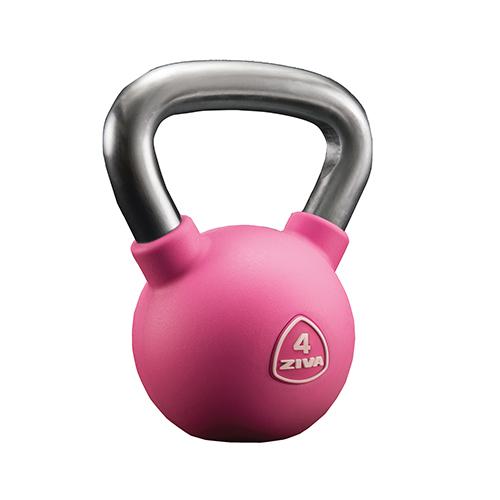 Ziva Chic Studio Kettlebell Pink (4 kg)