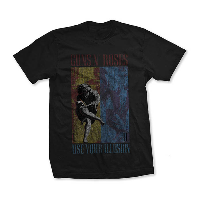 Pre order Guns N' Roses - Use Your Illusion Distressed T-Shirt
