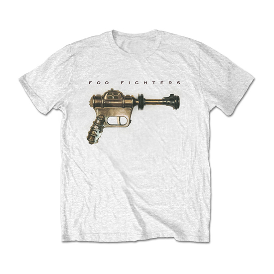 Pre order Foo Fighters - Ray Gun T-Shirt