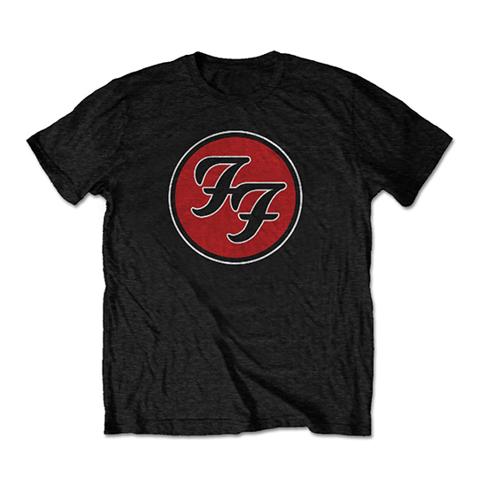 Pre order Foo Fighters - Logo Circle T-Shirt