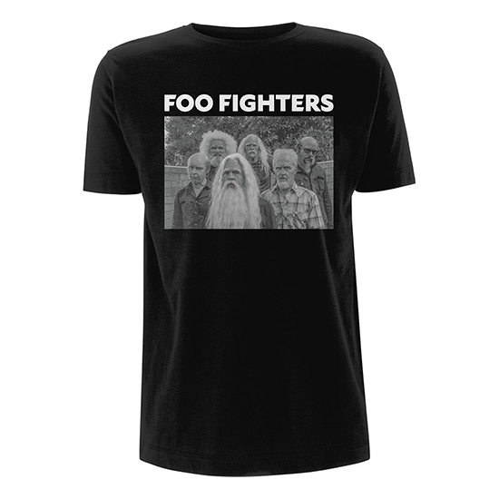 Pre order Foo Fighters - Old Band T-Shirt