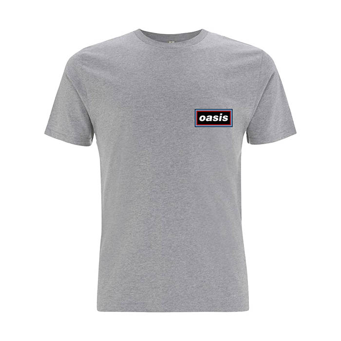 Pre order Oasis - Logo Grey T-Shirt