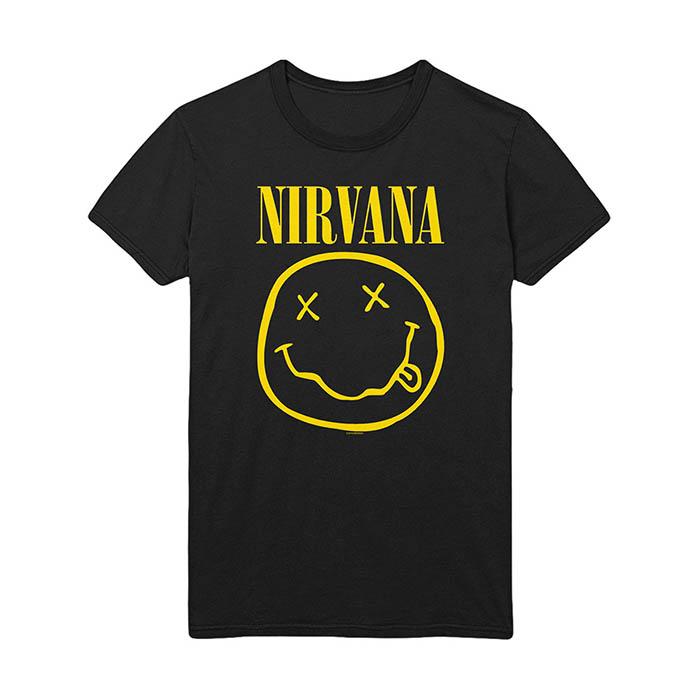 Pre order Nirvana - Smiley T-Shirt