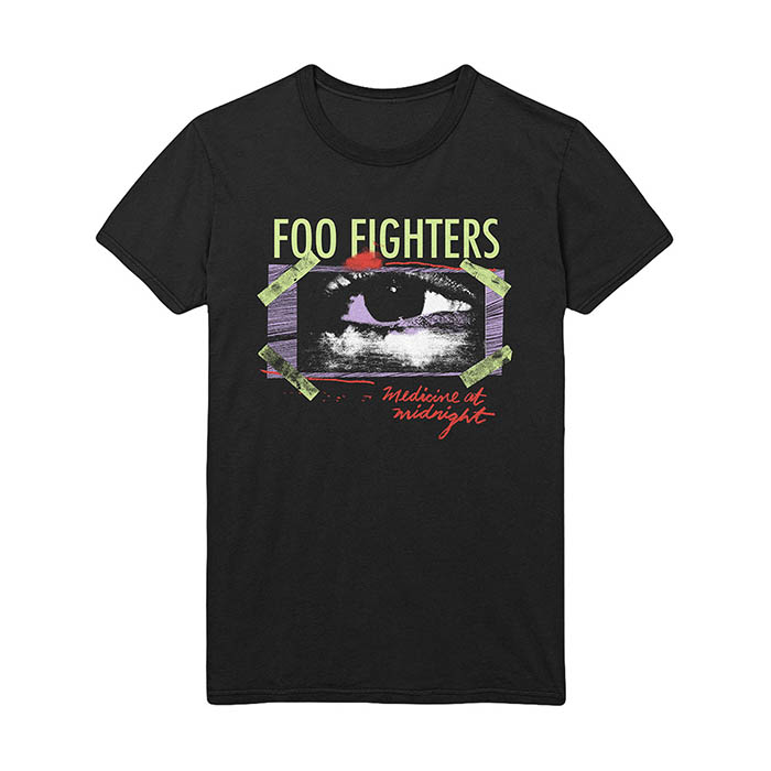 Pre order Foo Fighters - Medicine Eye Taped T-Shirt