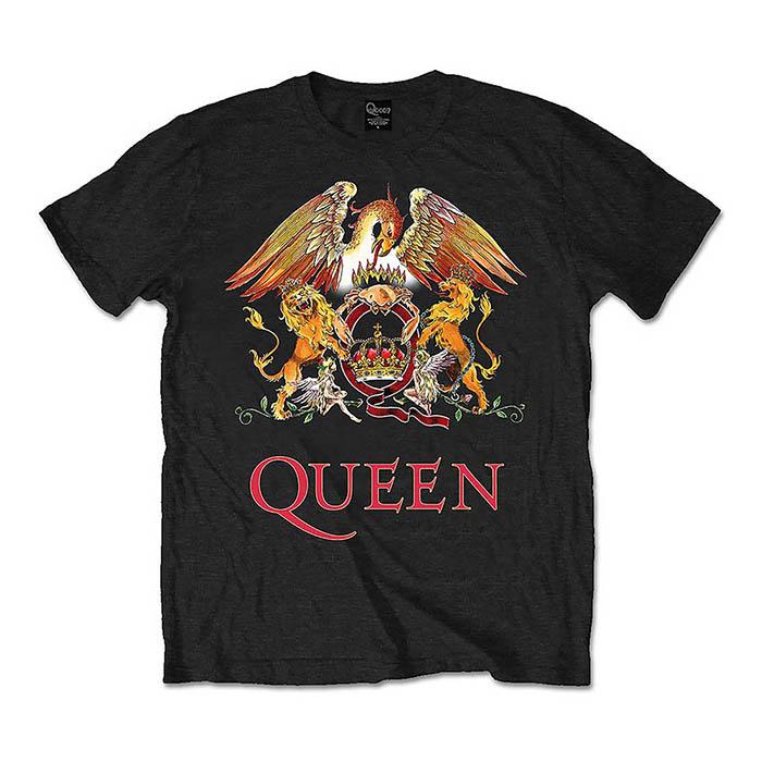 Pre order Queen - Classic Crest T-Shirt
