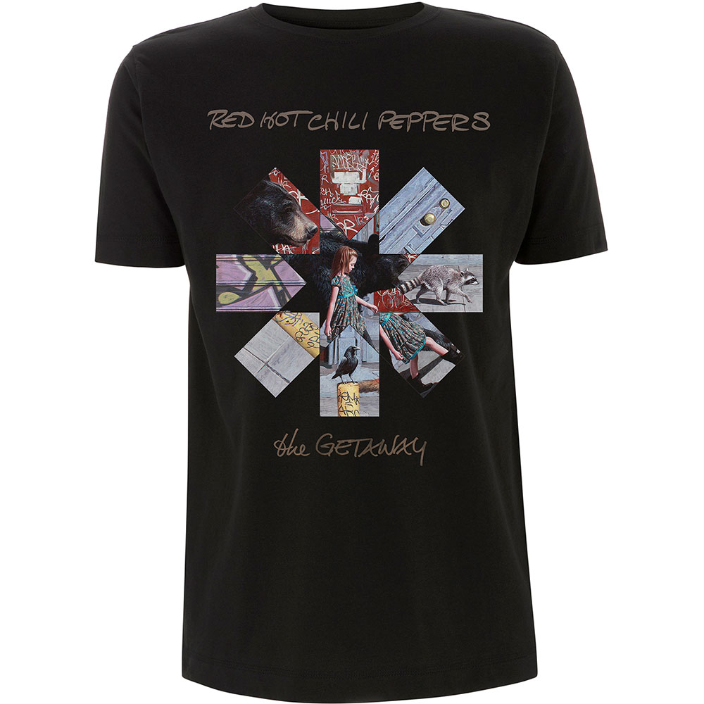 Pre order Red Hot Chili Peppers - Getaway Album Asterisk T-Shirt