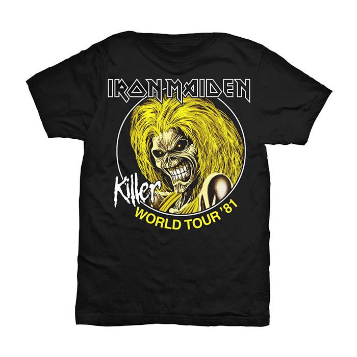 Iron Maiden - Killer World Tour 81 T-Shirt
