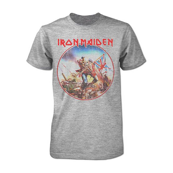 Iron Maiden - Trooper Vintage Circle T-Shirt