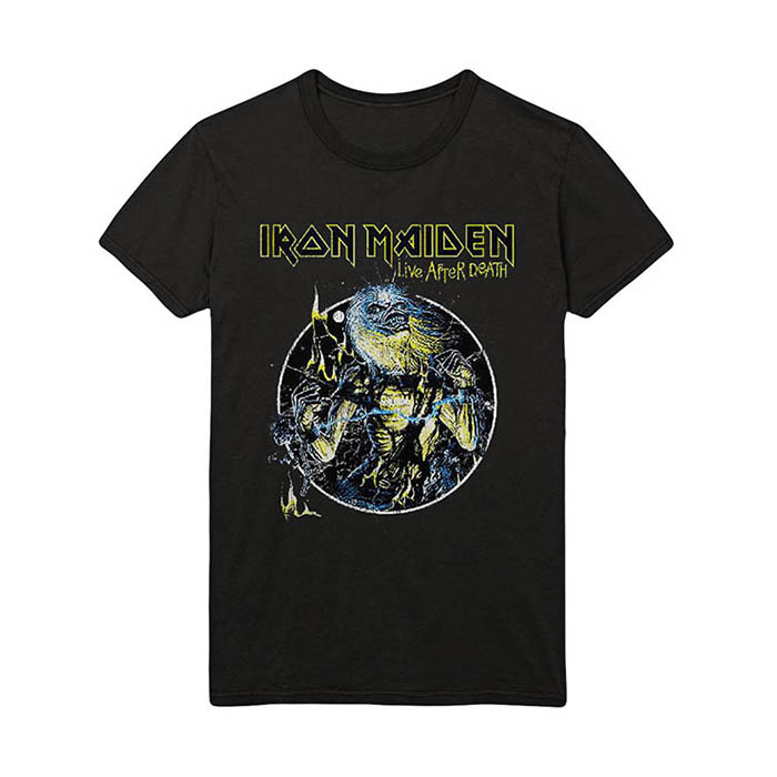 Iron Maiden - Live After Death Vintage T-Shirt