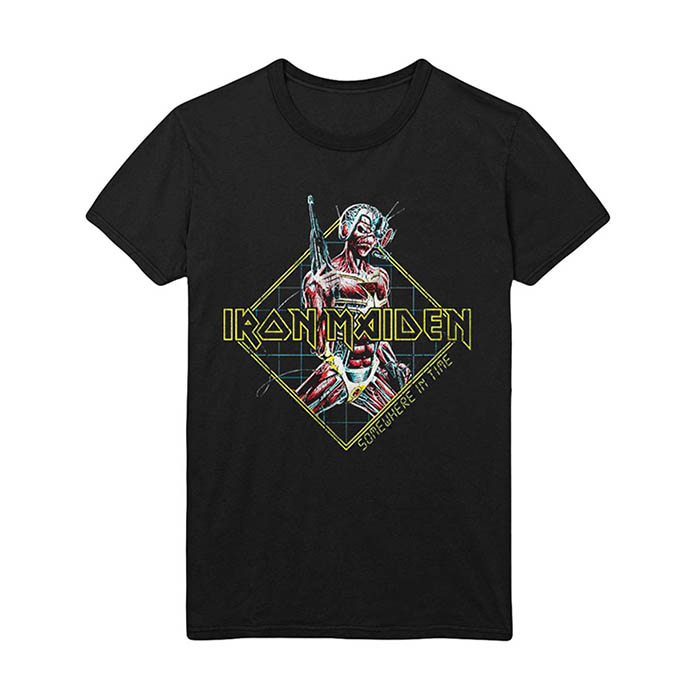 Iron Maiden - Somewhere In Time Vintage T-Shirt