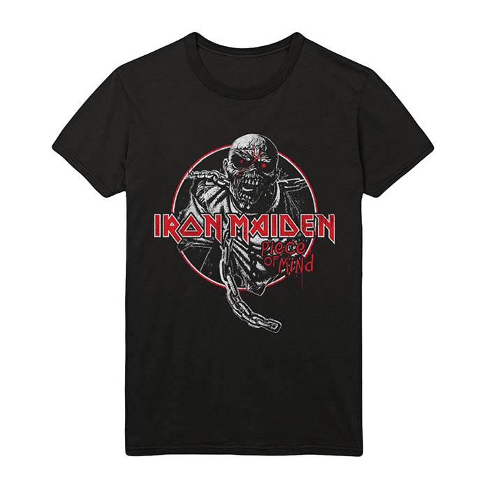 Iron Maiden - Piece Of Mind Circle T-Shirt