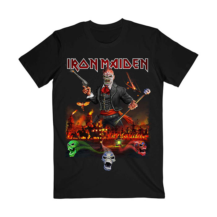 Iron Maiden - Nights Of The Dead Album T-Shirt T-Shirt