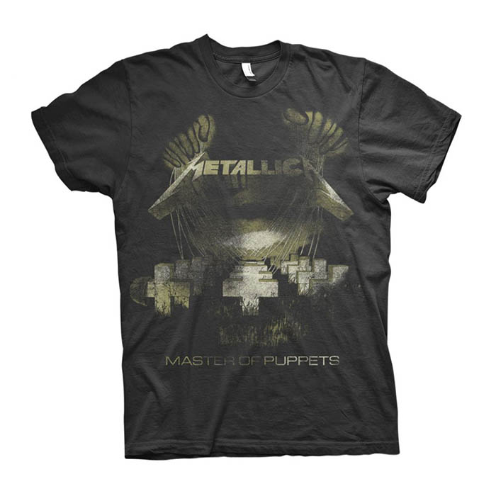 Metallica - Master of Puppets Distressed T-Shirt