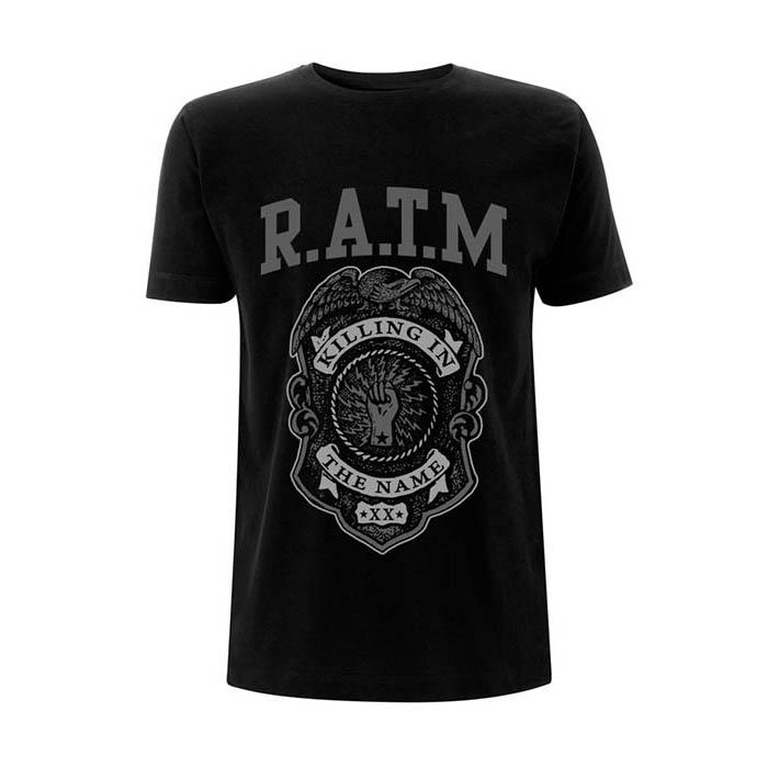 Rage Against The Machine - Badge T-Shirt