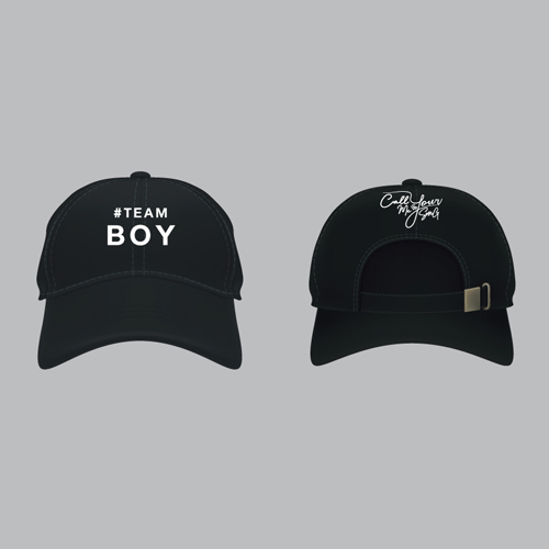 Cap #Teamboy [Black]