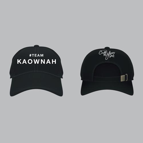 Cap #Teamkaownah [Black]