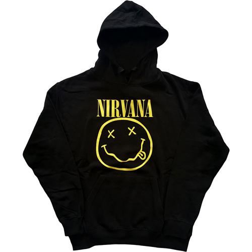 Nirvana - Yellow Smiley Hoodie