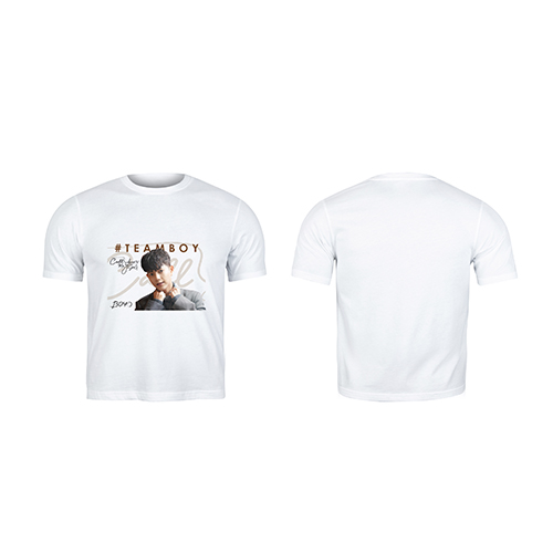 White T-shirt Teamboy