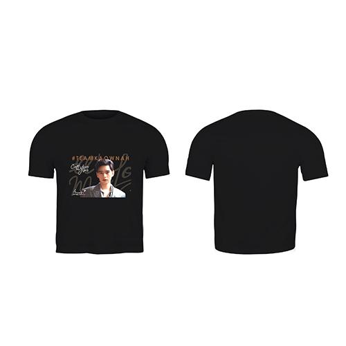 Black T-shirt Teamkaownah
