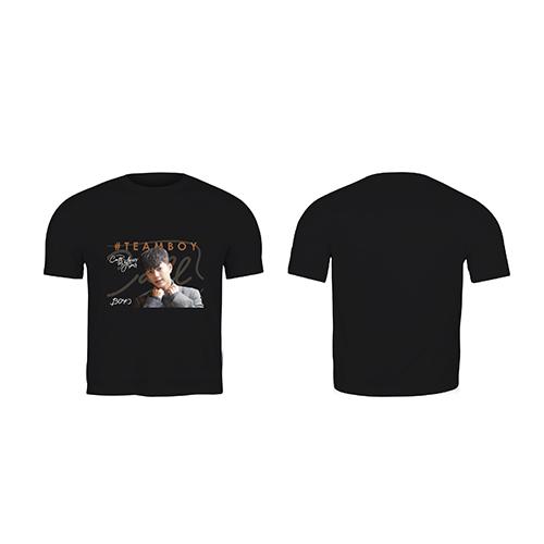 Black T-shirt Teamboy