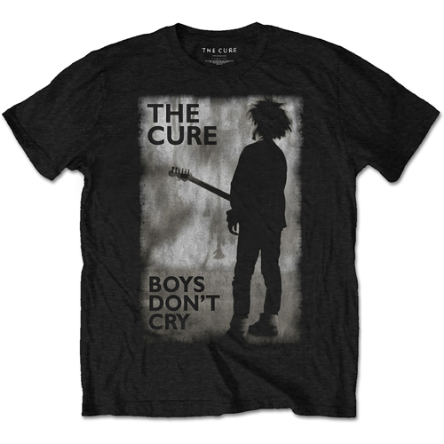 The Cure - Boys Don't Cry Black & White T-Shirt