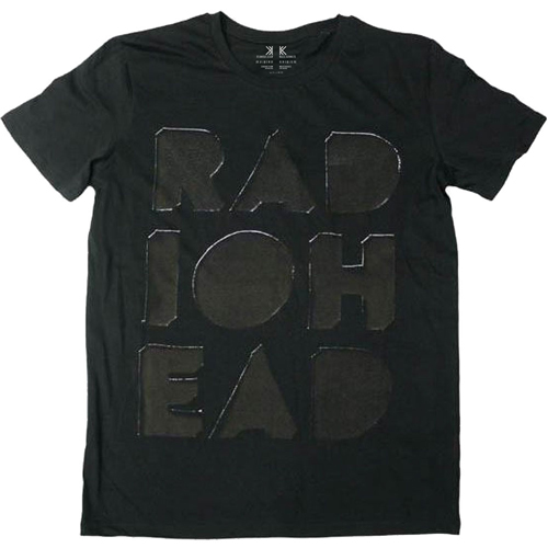 Radiohead - Debossed Note Pad T-Shirt
