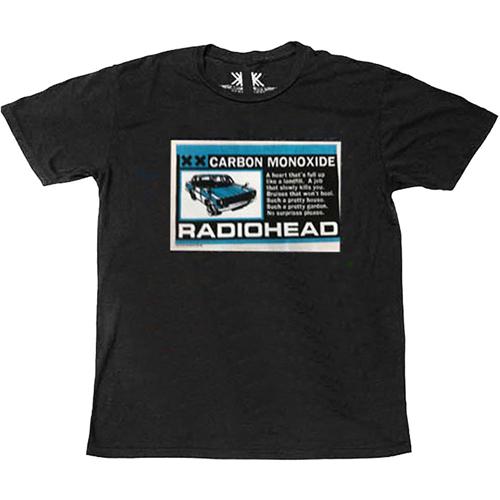 Radiohead - Carbon Patch T-Shirt